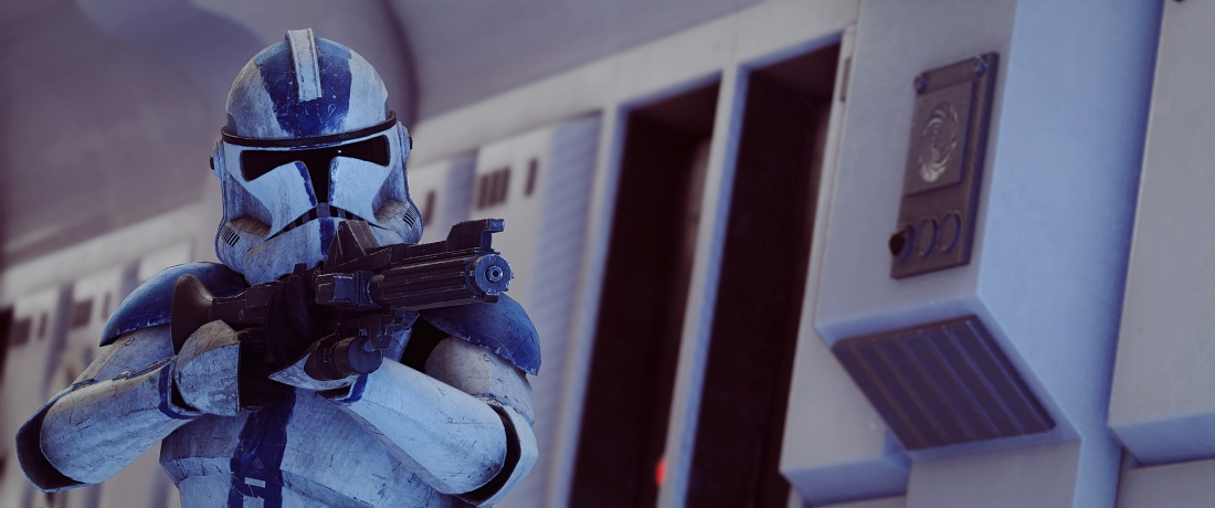 SW 501st clone trooper