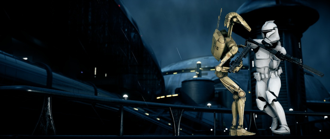 SW clone phase 1 battle droid kamino