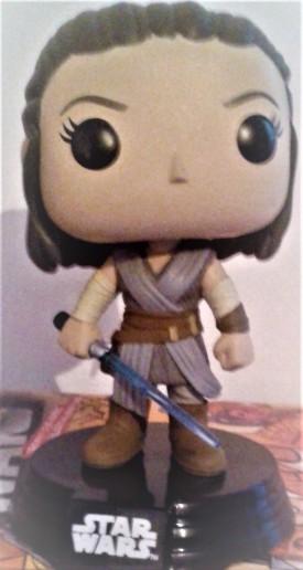SW Funko character Rey
