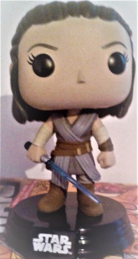 SW Funko character Rey