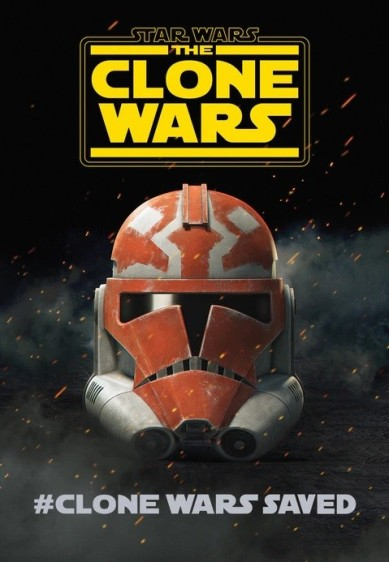 SW The Clone Wars S7 Poster