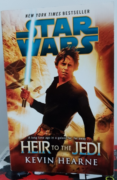 Star Wars books Heir to the Jedi