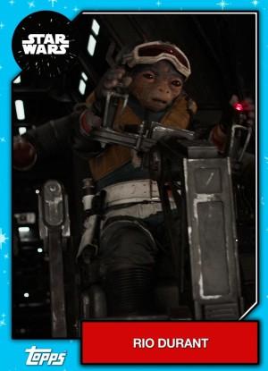 Star Wars character Rio Durant