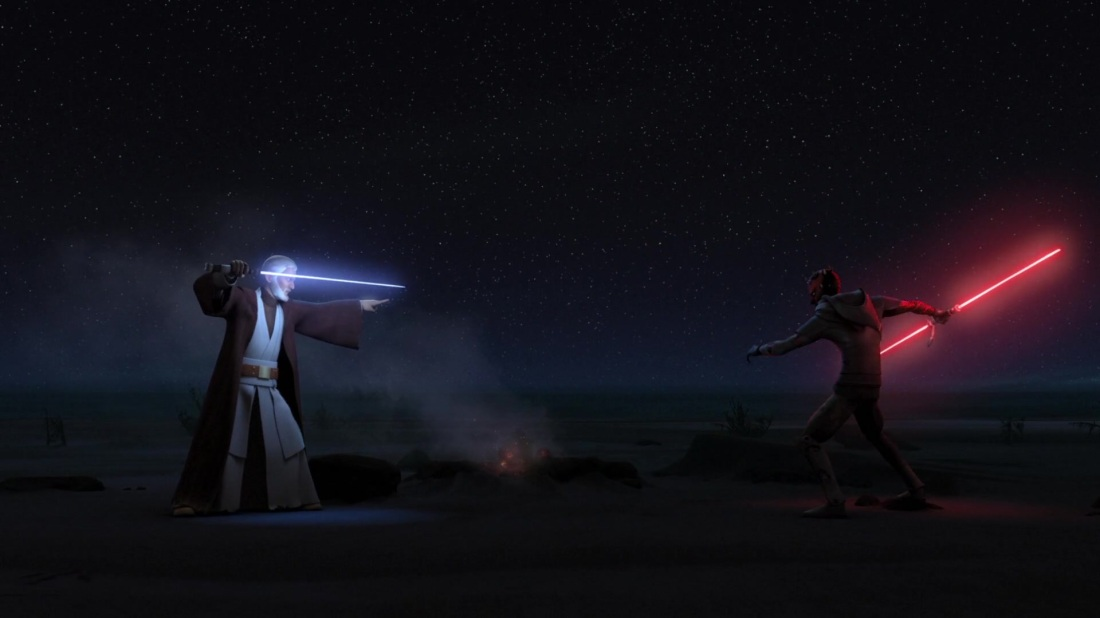 Star Wars Twin Suns Kenobi Maul