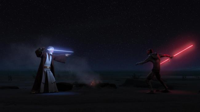 Star Wars Twin Suns Kenobi Maul