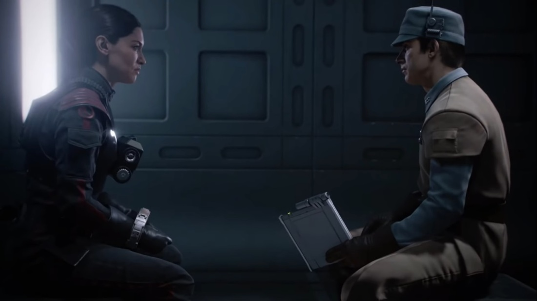 Star Wars Battlefront II The Cleaner interrogation
