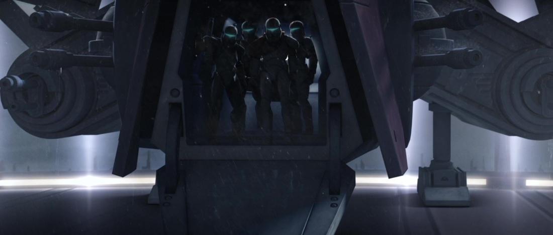 Star Wars characters Delta Squad clones