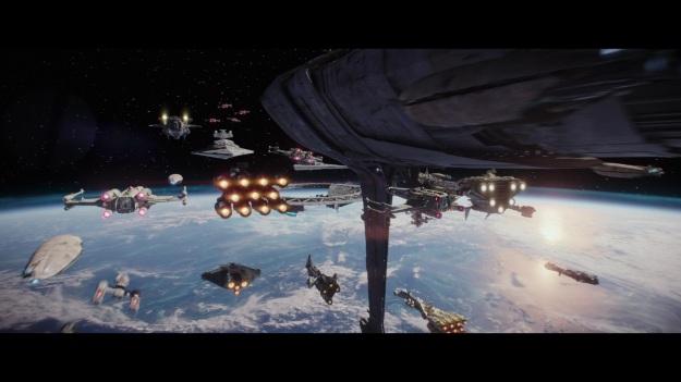 Star Wars Rogue One Rebel Fleet Scarif