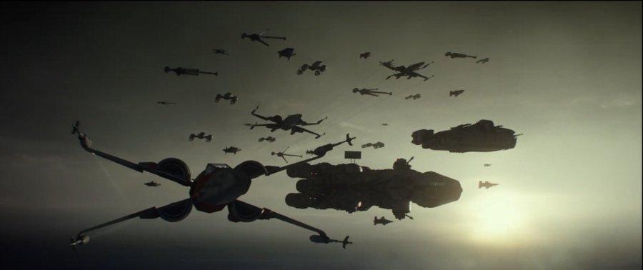 Star Wars Rise of Skywalker fighters