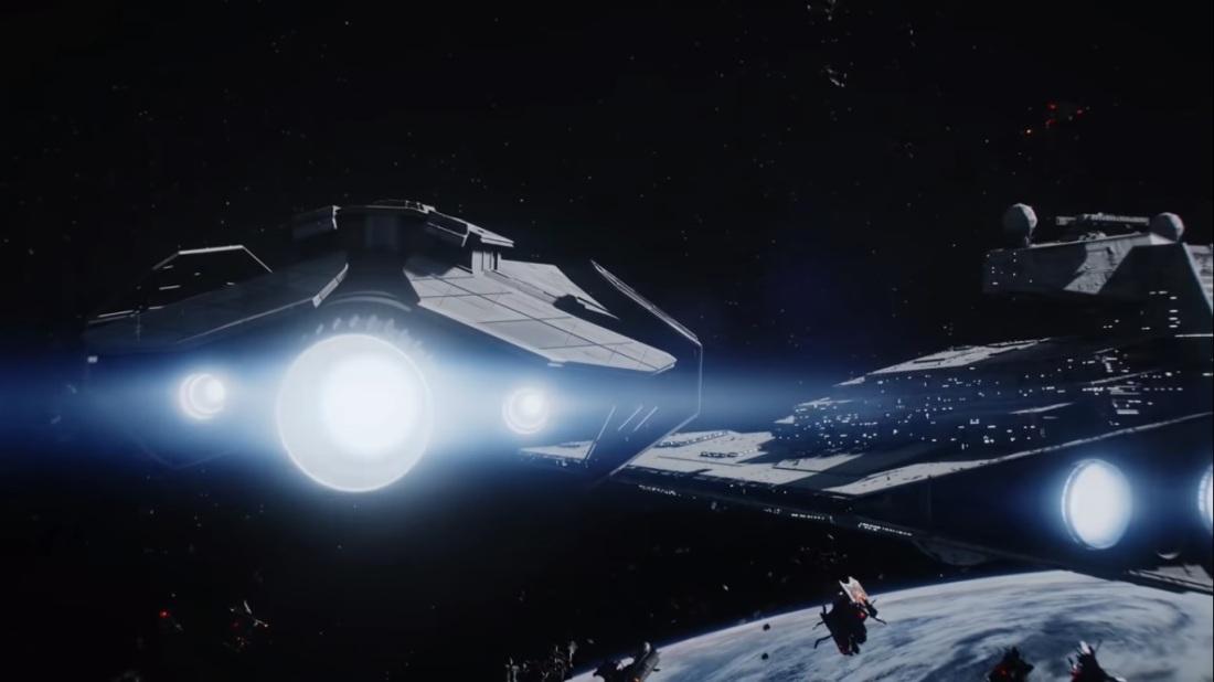 Star Wars Battlefront II Battle of Endor Escape