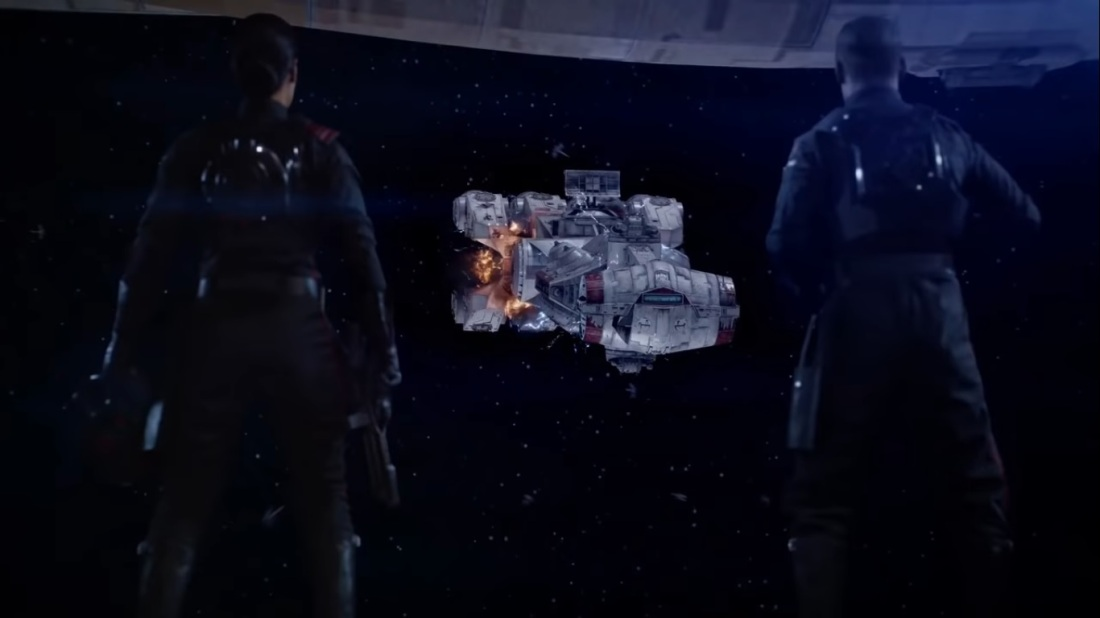 Star Wars Battlefront II The Dauntless incoming