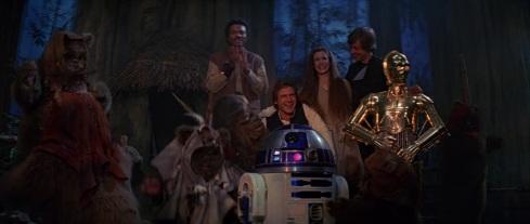 star wars return of the jedi celebration final shot