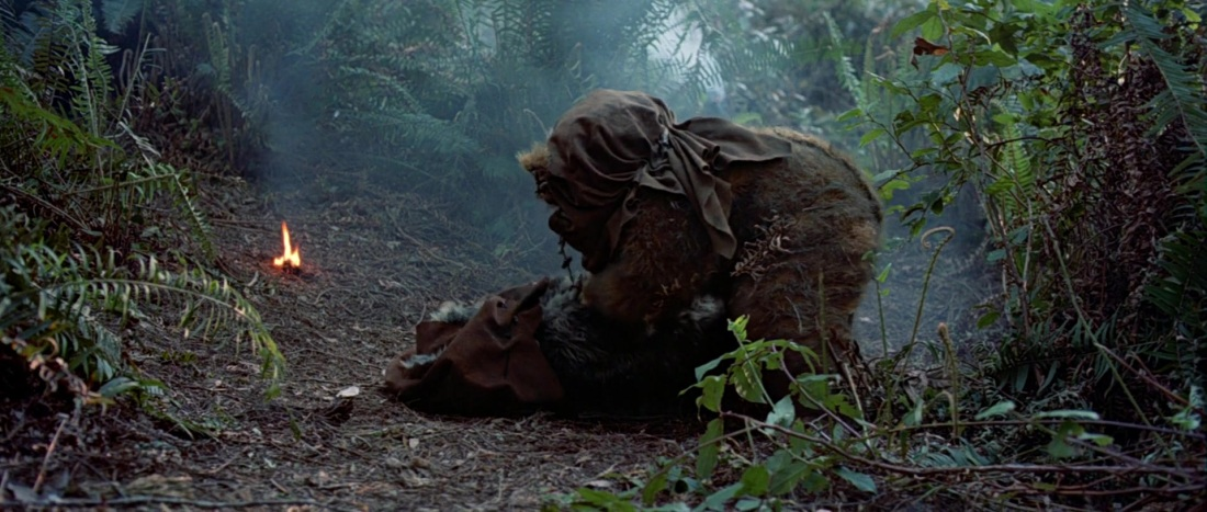 star wars return of the jedi ewok death
