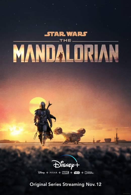 Star Wars The Mandalorian Disney+ Poster