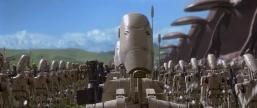 star wars the phantom menace battle droid unfolded