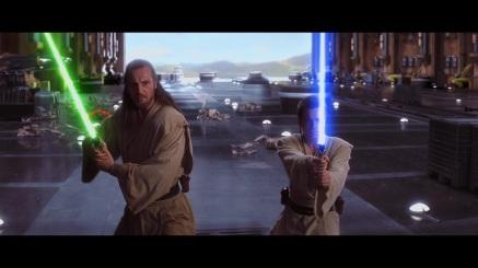 star wars the phantom menace duel of fates qui gon obi wan