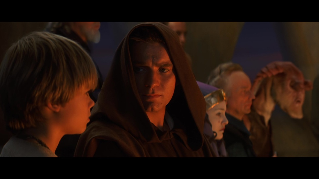 star wars the phantom menace obi wan funeral