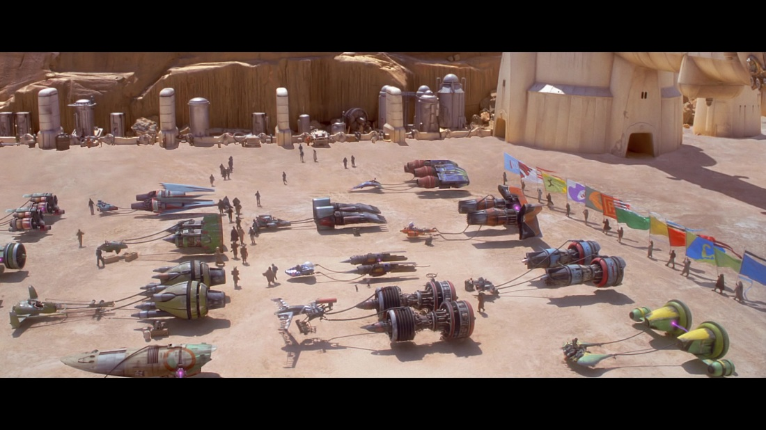 star wars the phantom menace podrace
