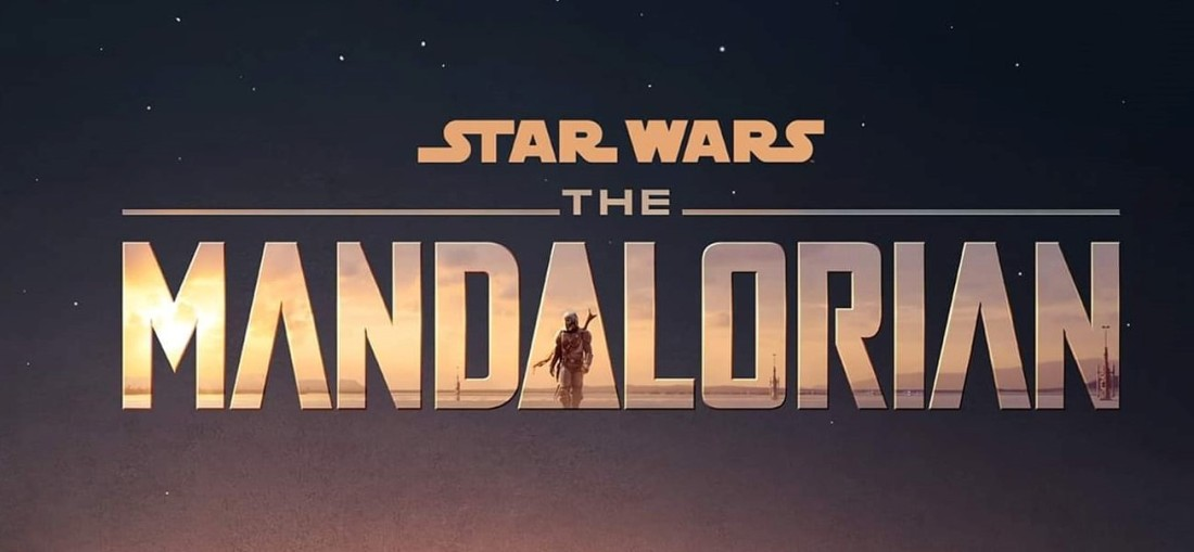 Star Wars The Mandalorian Poster 1 title