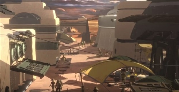 Star Wars Resistance 12 The Missing Agent town