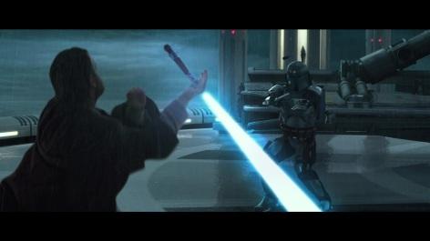 Star Wars Attack of the Clones Obi-Wan Kenobi Jango Fett