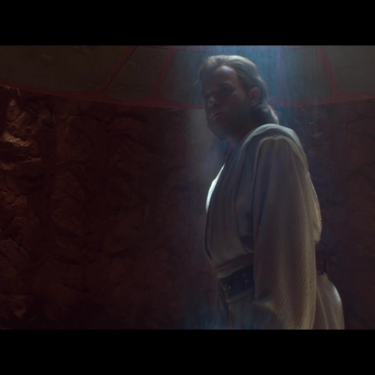 Star Wars Attack of the Clones Obi-Wan Kenobi prisoner