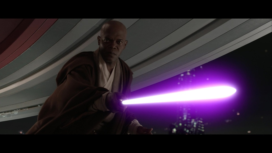 star wars characters mace windu revenge of the sith lightsaber