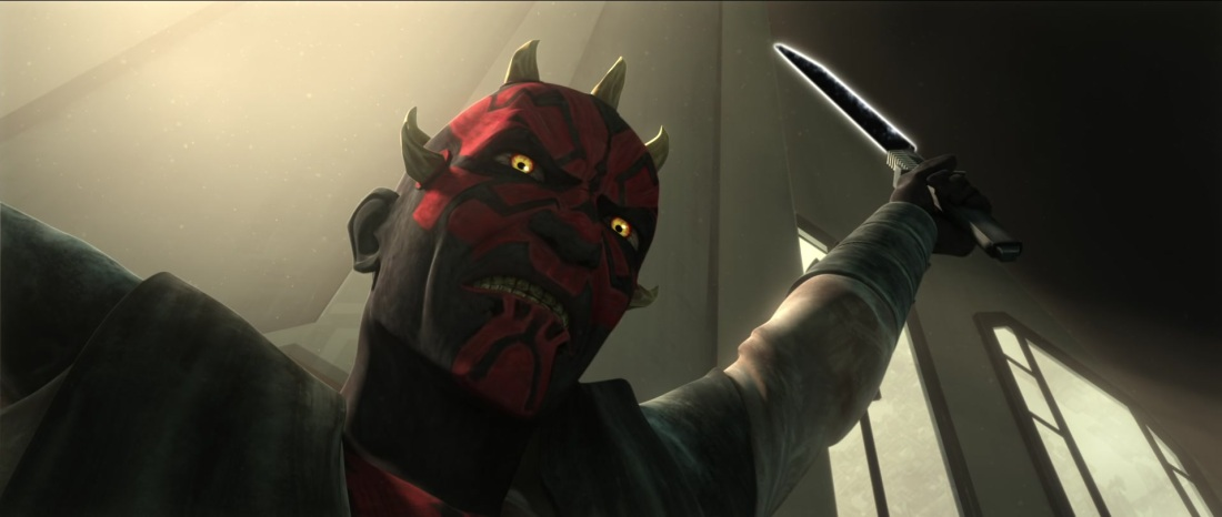 Star Wars The Clone Wars Maul Darksaber