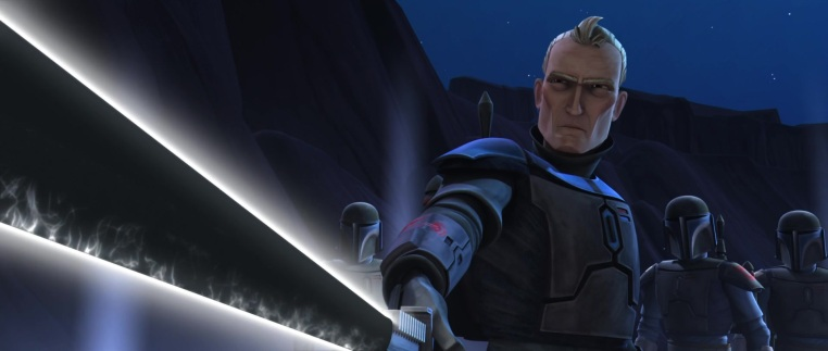 Star Wars The Clone Wars Pre Vizsla Darksaber Death Watch