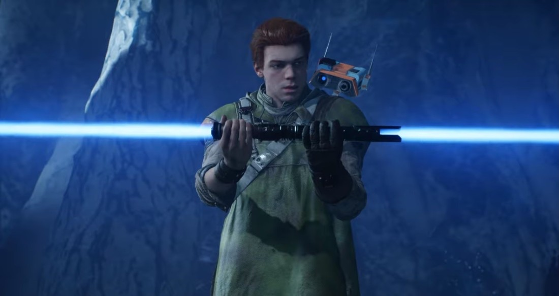 star wars video game jedi fallen order Cal Kestis lightsaber