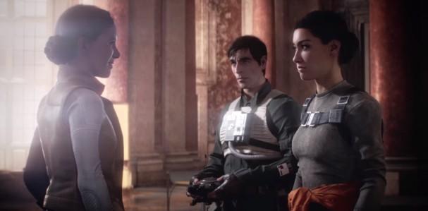 star wars battlefront II campaign royalty leia iden del