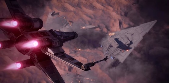 star wars battlefront II campaign until ashes iden x-wing eviscerator