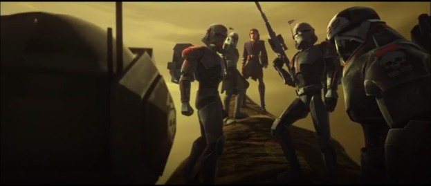 star wars the clone wars a distant echo hunter rex anakin crosshair wrecker