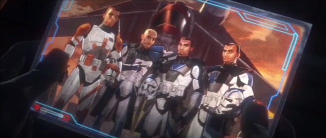 star wars the clone wars photo cody rex fives echo