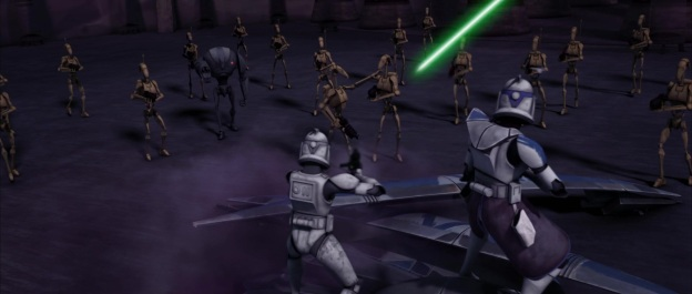 star wars the clone wars rex outnumbered