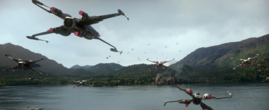 star wars the force awakens battle of takodana