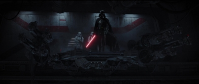 star wars rogue one vader hallway 10