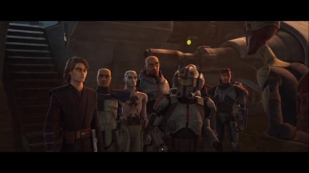 star wars the clone wars on the wings of keeradaks anakin skywalker rex tech echo hunter crosshair wrecker