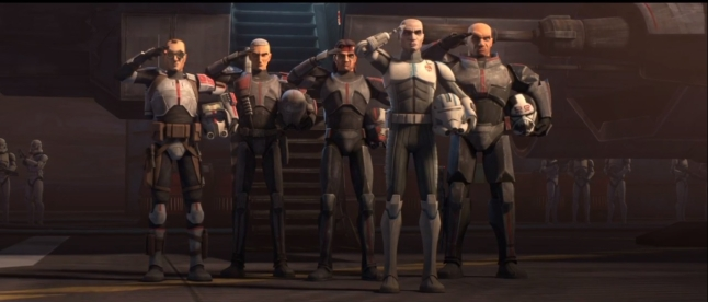 star wars the clone wars s7e4 unfinished business bad batch tech crosshair hunter echo wrecker