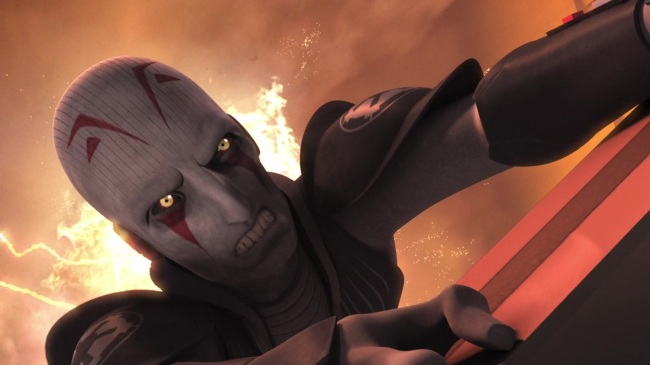 star wars rebels fire across the galaxy grand inquisitor death