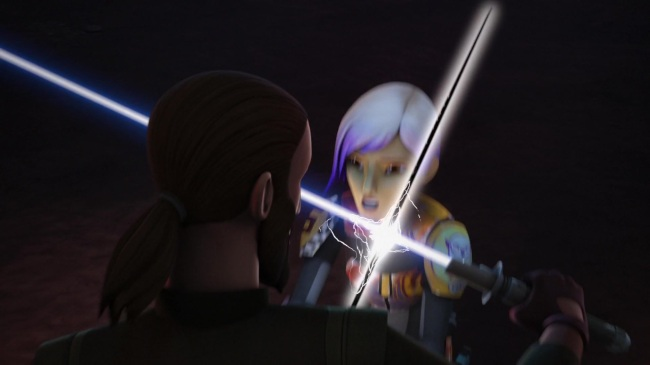 star wars rebels trials of the darksaber kanan jarrus sabine wren