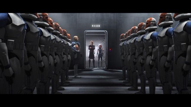 star wars the clone wars s7e9 old friends not forgotten anakin ahsoka rex 501st 332nd
