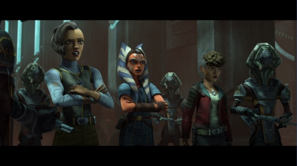 star wars the clone wars together again rafa martez trace martez ahsoka tano pyke syndicate