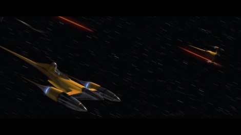 star wars the phantom menace n-1 starfighter
