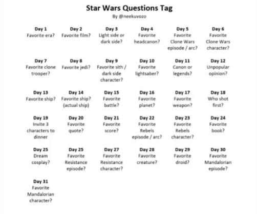 Star Wars Questions Tab by @neekuvozo