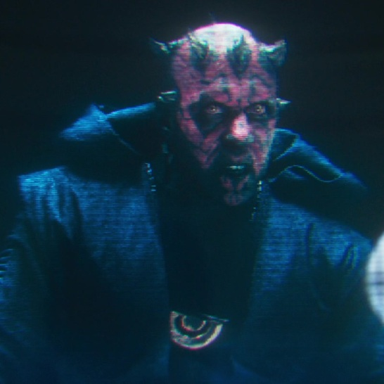star wars solo darth maul hologram crimson dawn