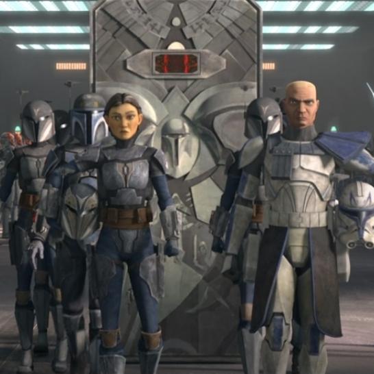 star wars the clone wars s7 e11 shattered ursa wren maul rex bo-katan ahsoka