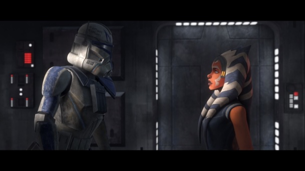 star wars the clone wars s7e12 victory and death ahsoka tano rex