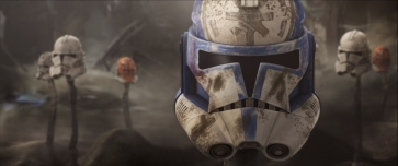 star wars the clone wars s7e12 victory and death jesse ARC trooper helmet 332nd graves