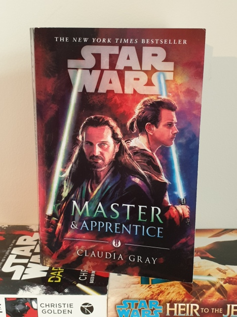 star wars books master & apprentice